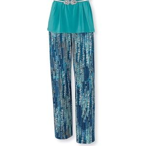 New Serengeti Blue Speckled Women's Pants